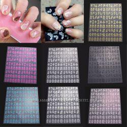 Наклейки на ногти для дизайна маникюра