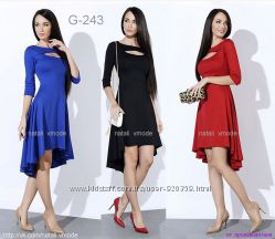 Трикотажное платье G-243 от natali vmode