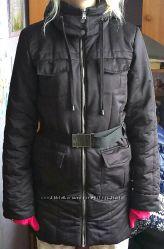 фирменное пальто-куртка Adidas