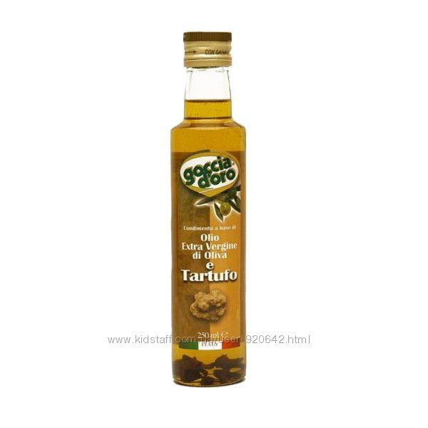 Оливковое масло Extra Vergine с Трюфелями Goccia doro 0. 25л Италия
