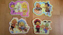 Фирменные пазлы для девочек, Fifi, 6-14 кусочков, цветы, эльф