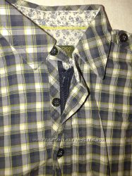 Модная рубашечка фирма Ted baker Англия 12-18мес