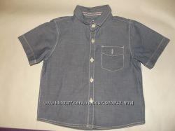Рубашка Next на кор рукав 12-18см