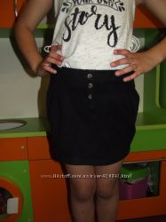 Стильная мини юбка 116 можно для школы
