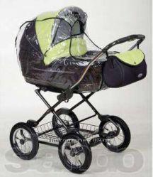 Комплект  Антимоскитная сетка и дождевик для детской коляски