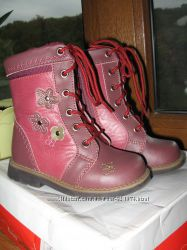 Детские демисезонные ботиночки Lapsi 22 размера