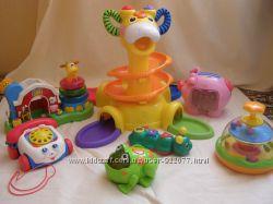 Фирменные игрушки  Fisher Price, VTECH, CHICCO, KIDDIELAND