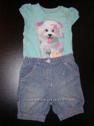 Модные, фирменные костюмчики 6-18 мес GEORGE, NEXT, H&M