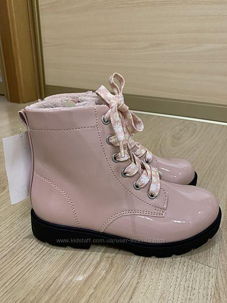 Утеплённые демисезонные ботиночки hm евро 32