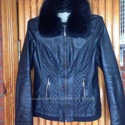 Куртка з шкір-замінника