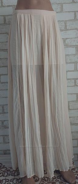 Пудровая юбка Zara
