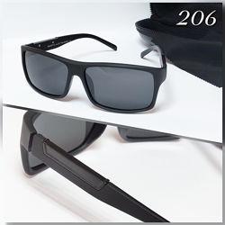 Мужские черные очки линза поляризацийна