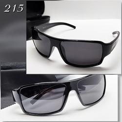 Мужские очки черные с поляризацией