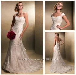 Свадебное платье. кружевное. есть все цвета и размеры