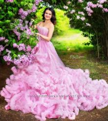 Свадебные платья трансформер со семным шлейфом, разных цветов- королева