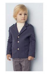 Трикотажный пиджак для мальчика, все размеры.