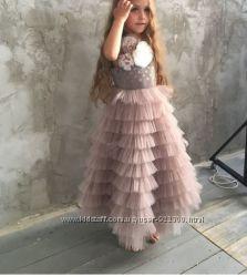 Шикарные детские платья, все размеры.