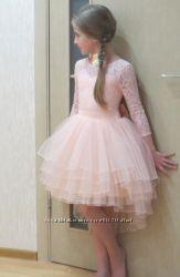 Платье нарядное для девочки. От 6 до 14 лет