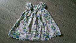 Платье фирмы NEXT с цветочным летним принтом