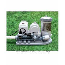 Фильтр насос для бассейна, система очистки хлор-генератор под соль