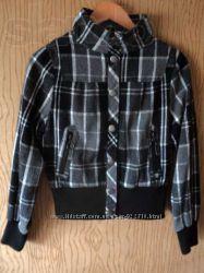 Куртка курточка ветровка в клетку р. ХS-S
