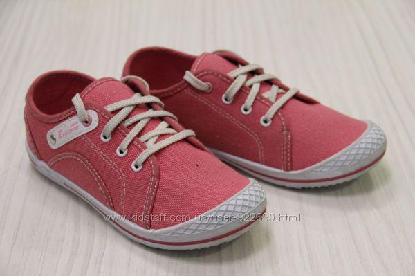 Детские мокасины Chicco Explorer на шнурках розовые