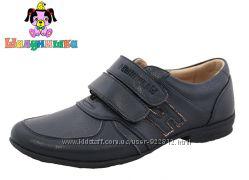 Туфли 34р-22. 6 см 35р-23. 3 см кожа Шалунишка синие