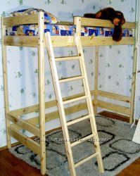 Двоярусне ліжко-горище