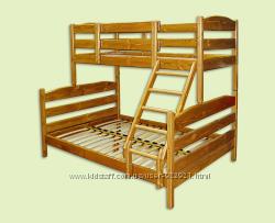 Двоярусне ліжко-трансформер