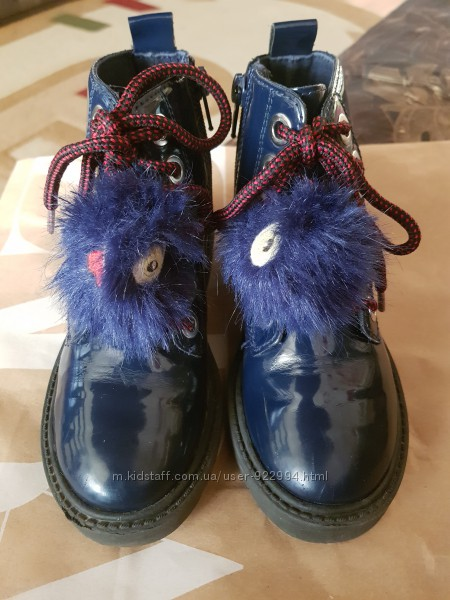 Ботинки на девочку ZARA 28 размер