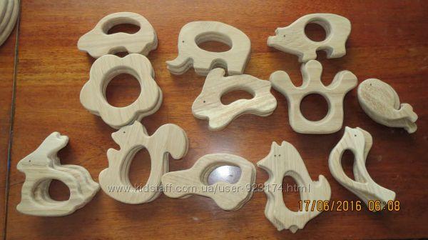 Деревянные грызуны прорезыватели для зубов малышей, раннего развития