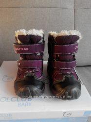 Зимние сапожки Coolclub кожа