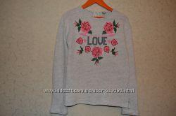 Модный хлопковый свитер TU 10-11 лет