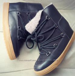 Зимние Sneakers Isabel Marant Ботинки хит сезона, натуральные в наличии