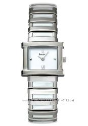 Изящные женские часы Bulova, браслет из натурального перламутра, оригинал
