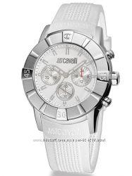 Распродажа Белоснежные унисекс часы от маэстро Roberto Cavalli, оригинал