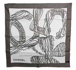 Элегантный легкий женский платок Chanel, оригинал, Италия