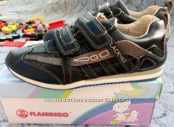 Кроссовки кожа  TM Flamingo