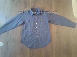 Продам новую рубашку на мальчика Ralph Lauren оригинал, размер С