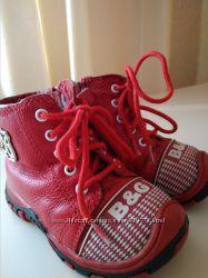 Зимние ботинки на меху B&G