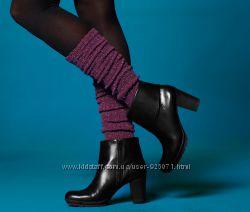 Гетры фиолетовые, черные и  бордовые с блеском  от ТСМ Tchibo Германия