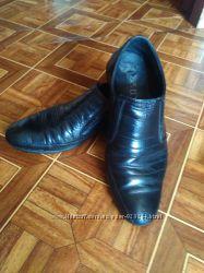 продам импортные туфли натуральная кожа на мальчика 8-10 лет, 34 размер