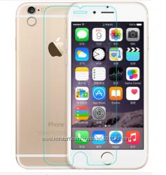 Захисне скло на айфон. Защитное стекло для iPhone 6, 6s, низкая цена