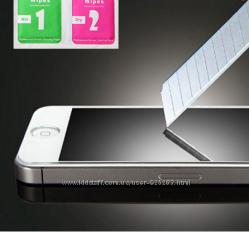 Захисне скло на айфон. Защитное стекло для iPhone 5, 5s, низкая цена
