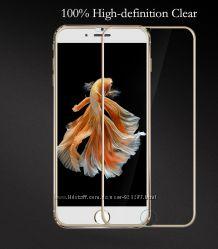 Захисне 3D скло на айфон. Защитное 3D стекло для iPhone 6, 6s, 6s plus