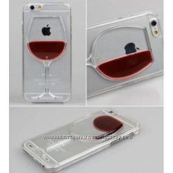 Красивый чехол Бокал вина на iPhone 6 6s