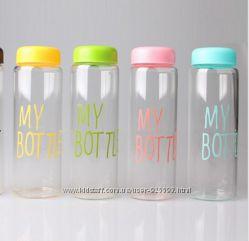 My Bottle бутылка с чехлом цветная от Rivers в наличии