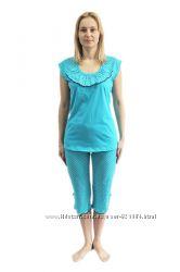 женская трикотажная пижама