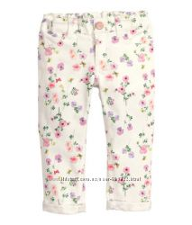 Капри, джинсы на девочку  H&M разм 6-7  лет