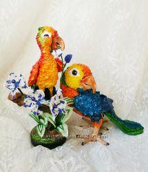 Статуэтка папугай ручной работы